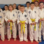 March 2020 Coloured Belt Grading - Peewees 1