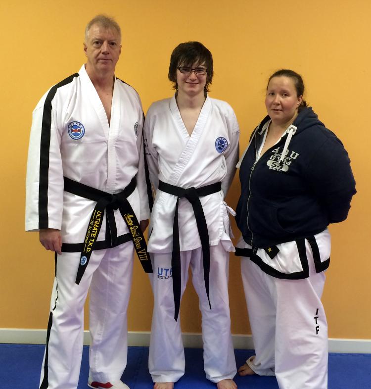 Euan with Master Brown and Miss Dundas