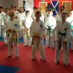 December 2016 Coloured Belt Grading