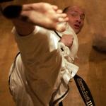Mr. Scott demonstrating Side Piercing Kick