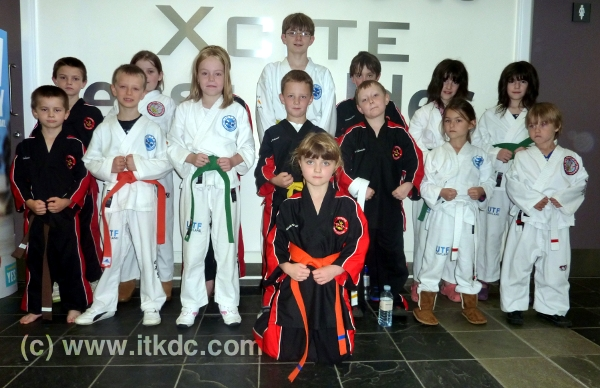 Oct 2011 Coloured Belt Grading