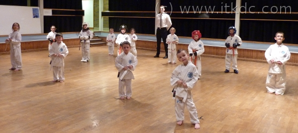 Intrepid Coloured Belt Gradings