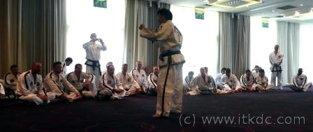International Instructors Course – GM Choi Jung Hwa