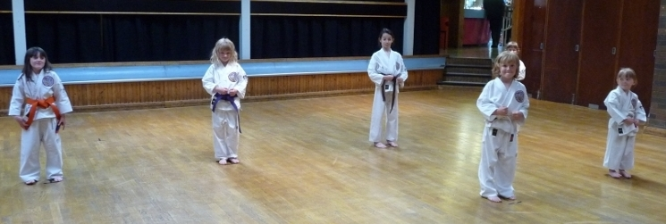 Intrepid Coloured Belt Grading