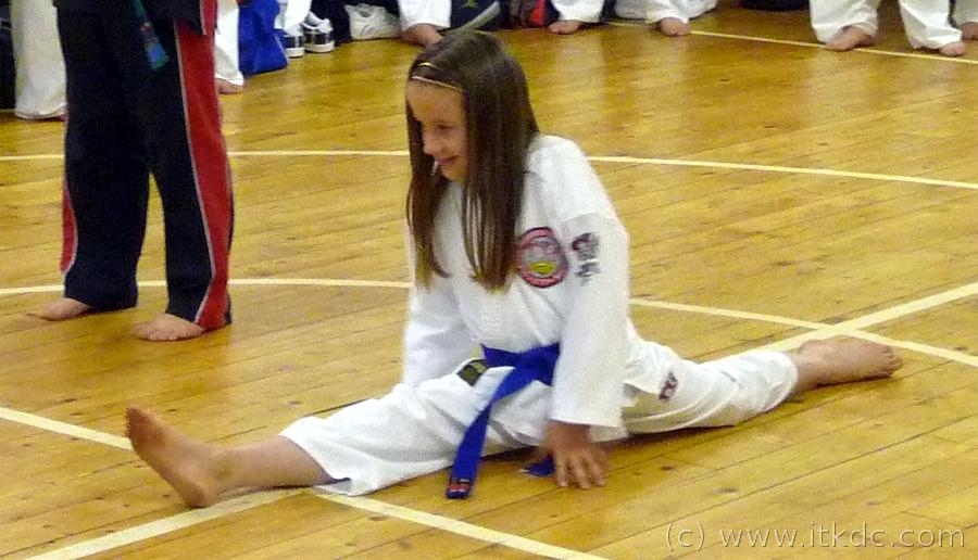 Taekwondo Demo for Dalgety Bay Cubs