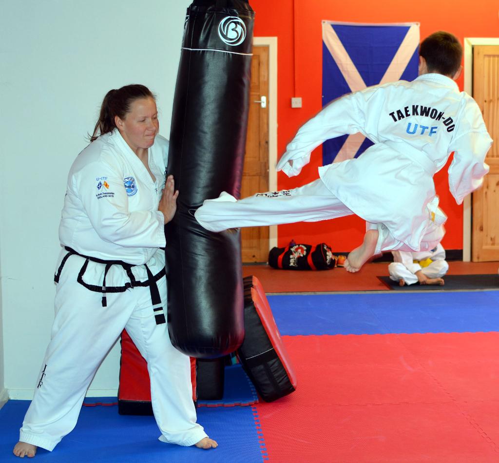 Summer Training at Kirknewton Class