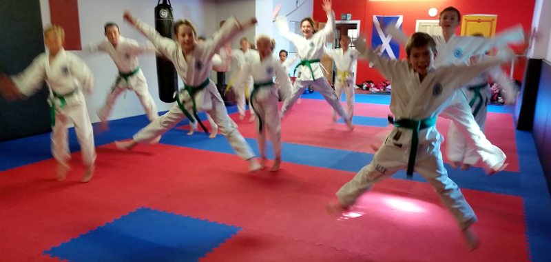 September 2015 Coloured Belt Grading