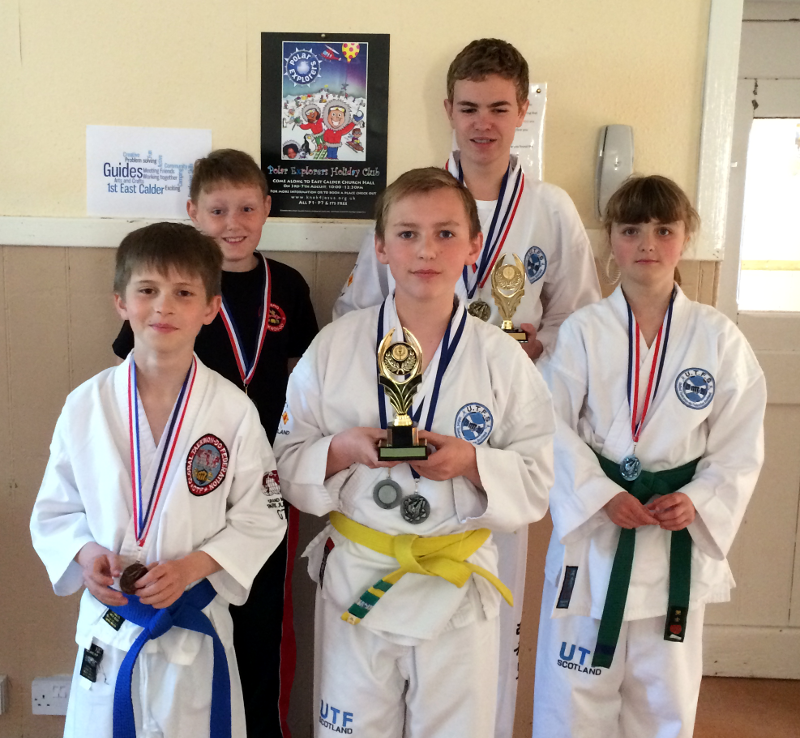 May 2015 Interclub Competition and Blackbelt League