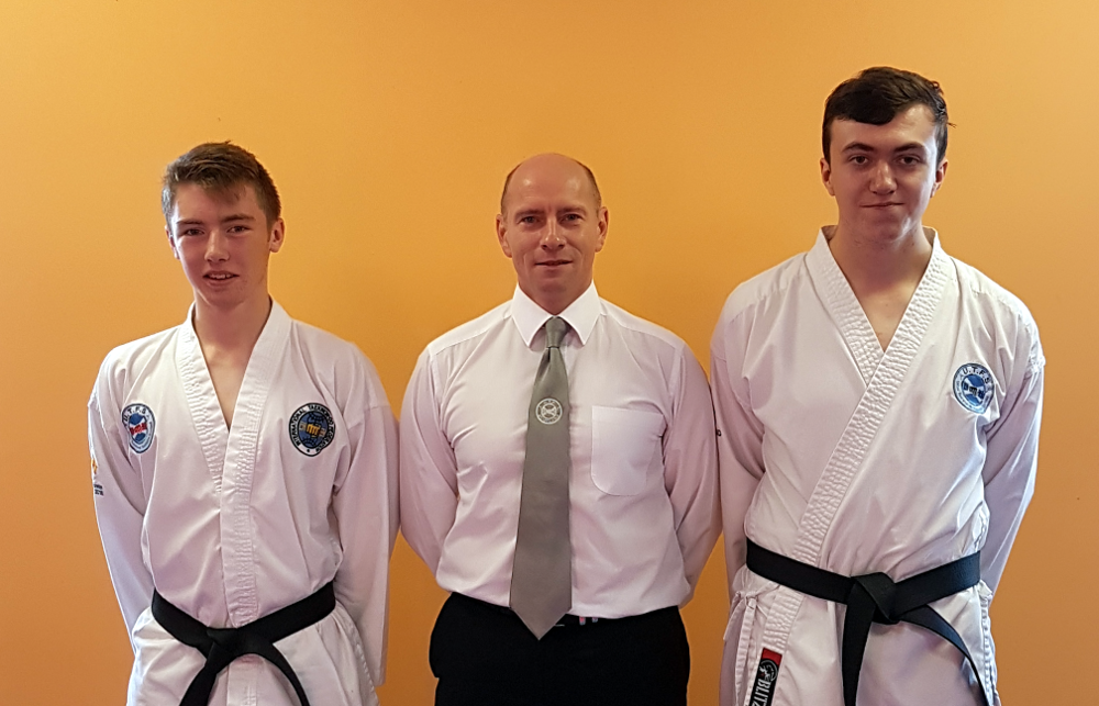 Black Belt Grading – October 2016